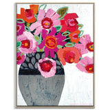 Fifi's Pot Framed Canvas Print