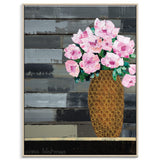 Flowers For Mother Framed Canvas Print