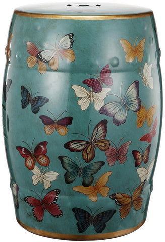 Butterfly Drum Stool
