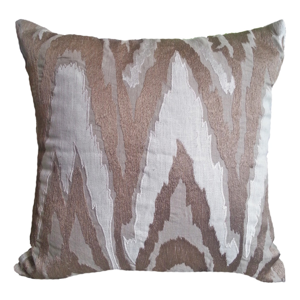 Ikat Cream Lounge Cushion
