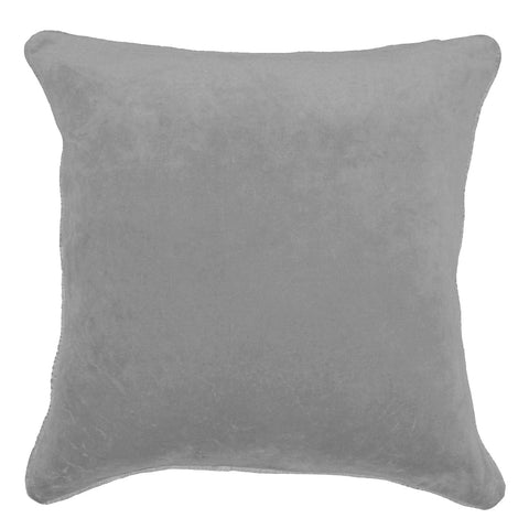 Velvet Dark Grey Lounge Cushion