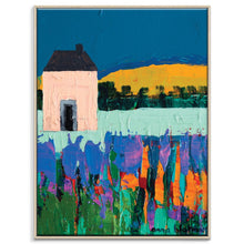 Daylesford Framed Canvas Print