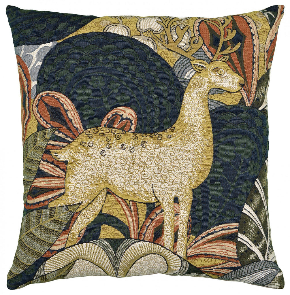 Contemporary Deer Buck Cushion