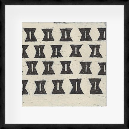 Tribal Patterns III Framed Print