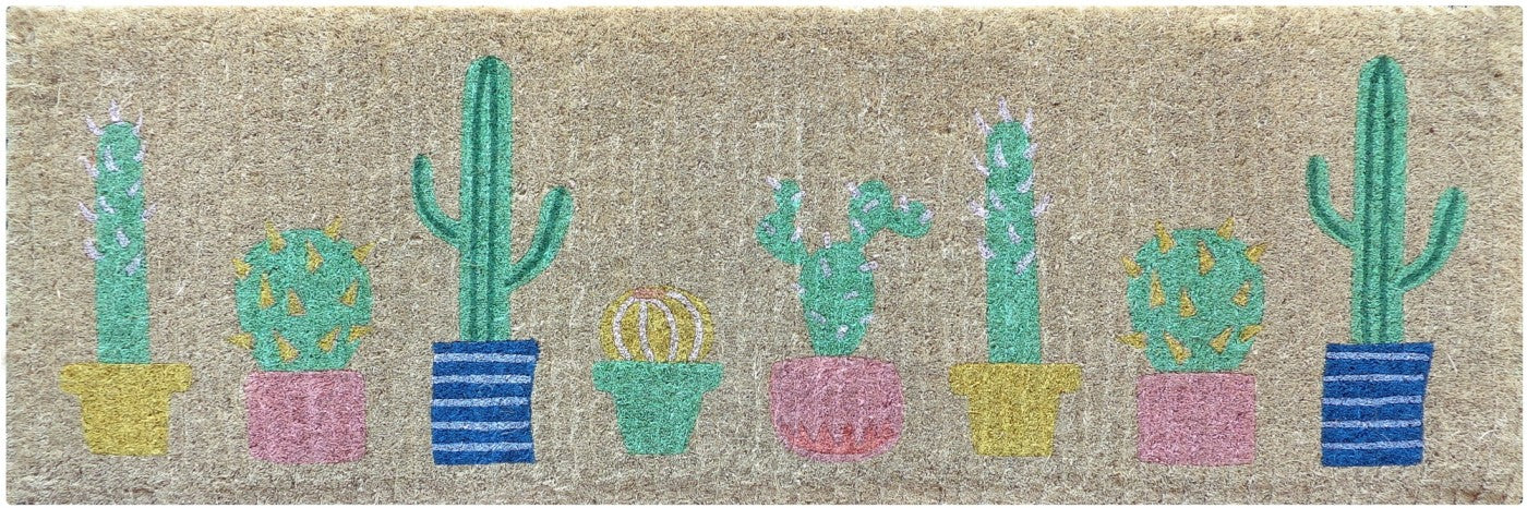 Cactus French Doormat