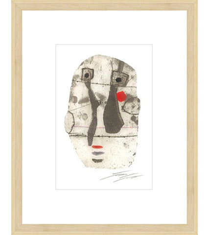 Face of Momay Framed Print