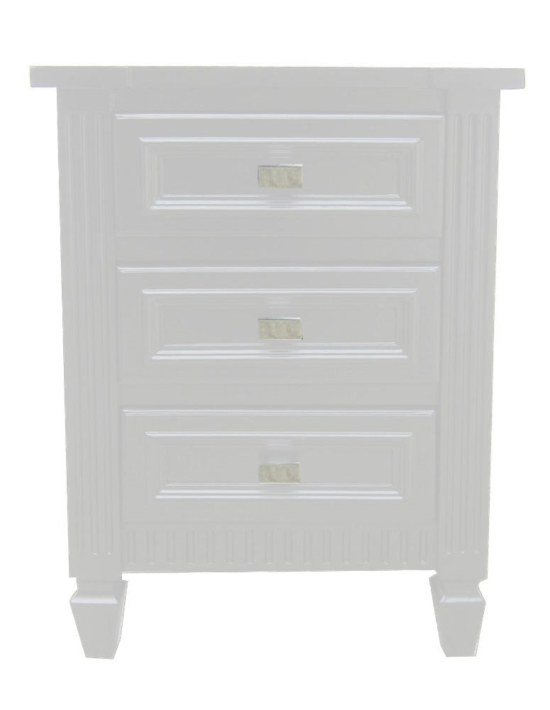 Merci Bedside Table Small White