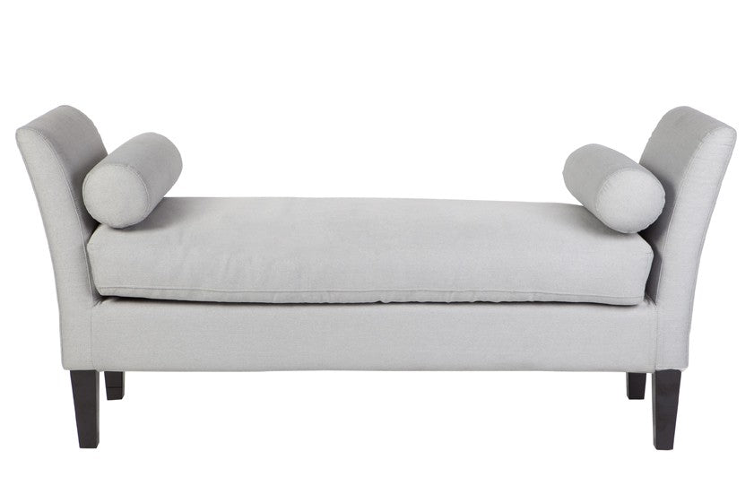 Duke Bed End Glacier Grey