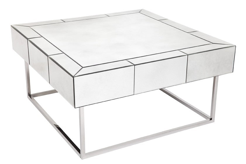 Hudson Mirrored Coffee Table