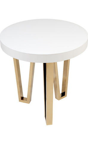 Stamford White Side Table