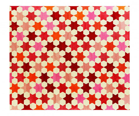 Cotton Dhurrie Rug Star