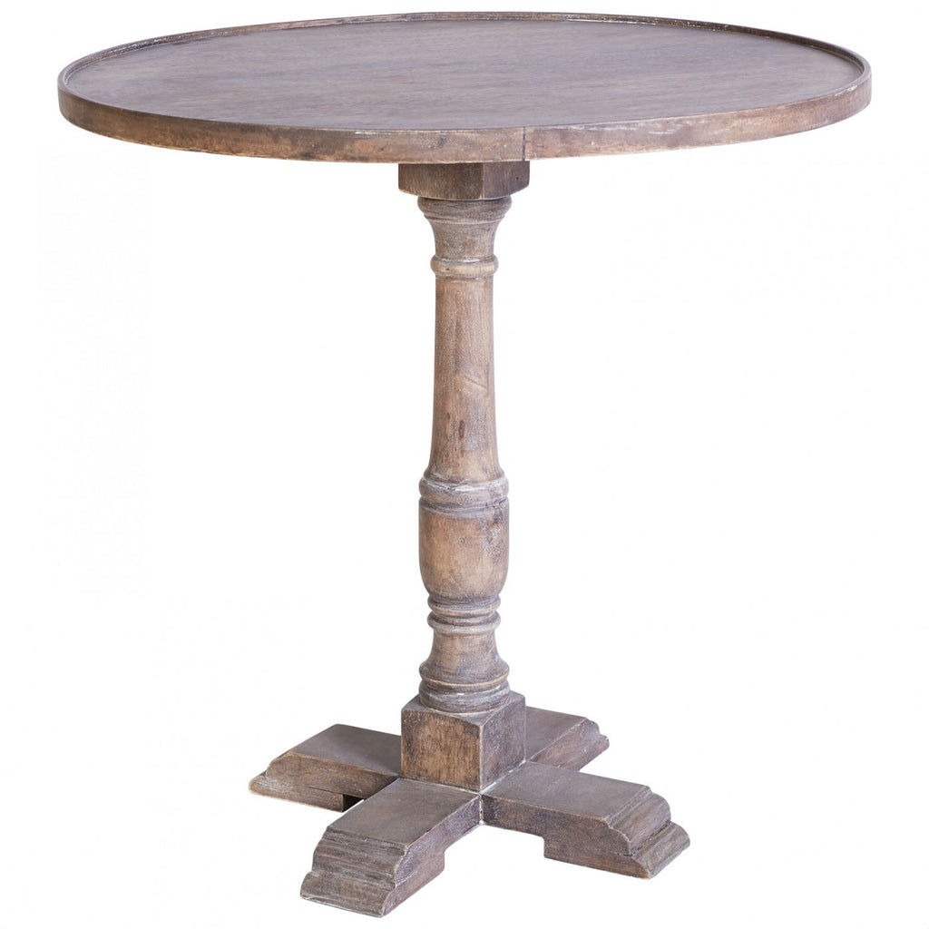 MayfaIr Pedestal Side Table