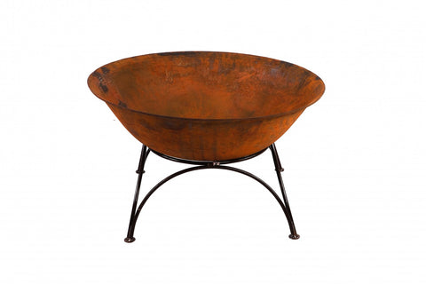 Cast Iron Bowl 70cm with Stand