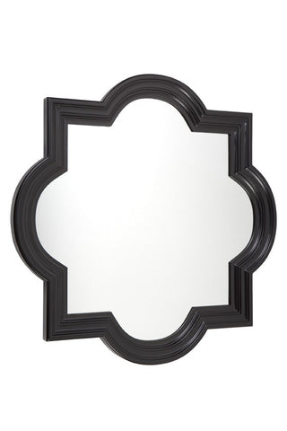 Marrakech Wall Mirror, Black
