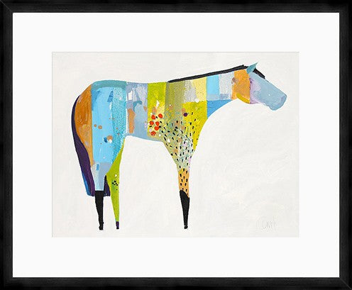 The Horse Number 27 Framed Print