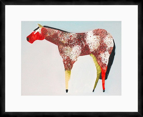 The Horse Number 39 Framed Print