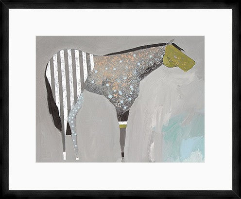 The Horse Number 63 Framed Print