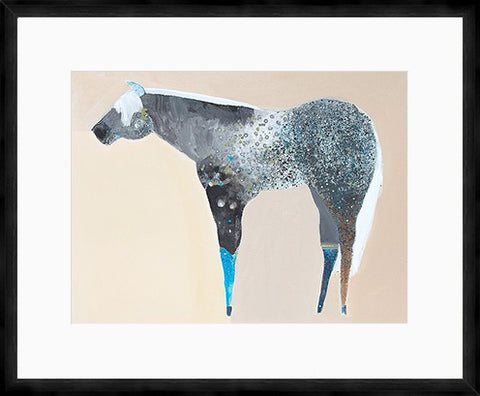 The Horse Number 67 Framed Print