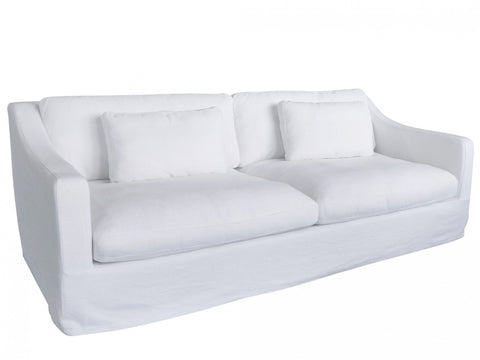 Abril 3 Seat Sofa Black