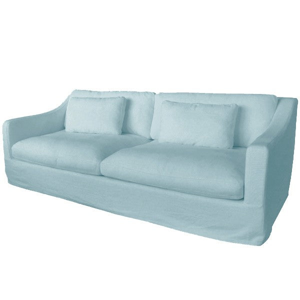 Nantucket Sofa Slip Covers Duck Egg Blue