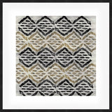 Grey Tribal III Framed Print
