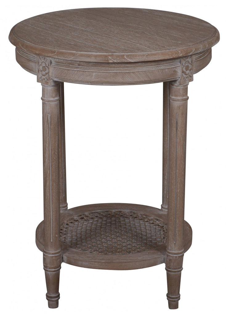 Polo Occasional Table Oak Wash