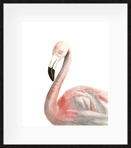 Watercolour Toucan Framed Print