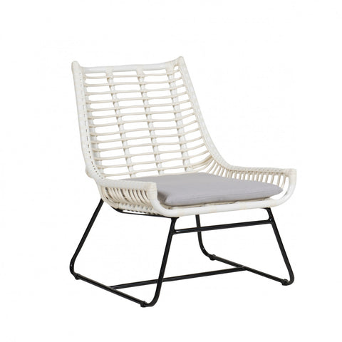 Palm Springs Plaza Lounge Chair White