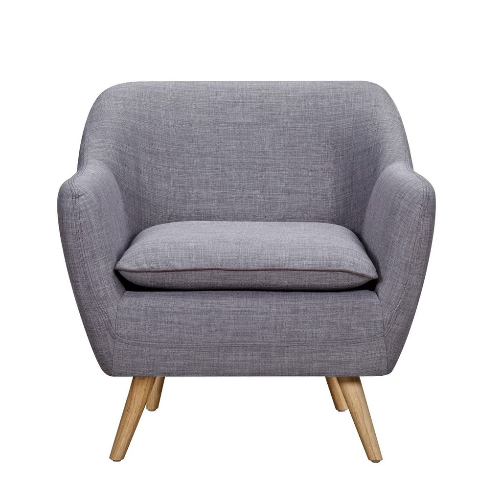 Sixty Luxe Armchair Grey