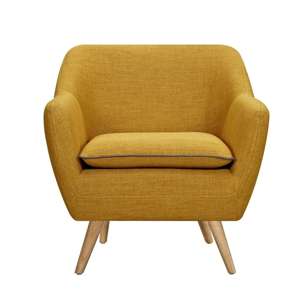 Sixty Luxe Armchair Yellow