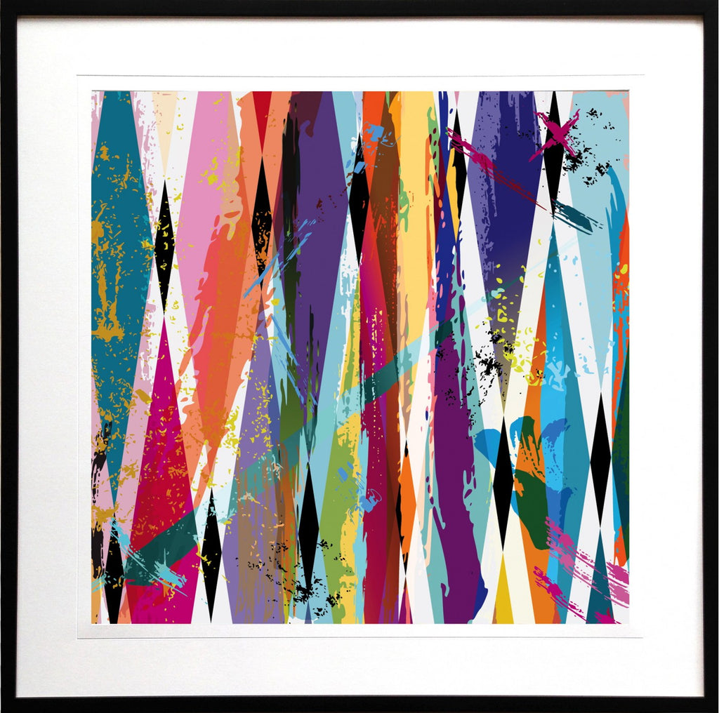 Colour Wash III Framed Print