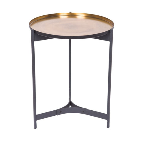 Butler Table Antique Brass Small