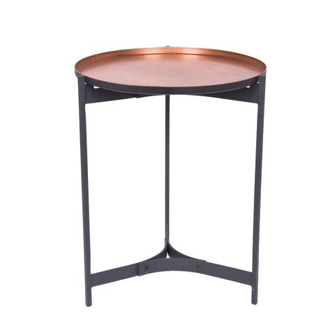 Butler Table Antique Copper Large