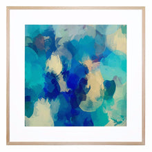Blue Mondays Giclee Print with Frame
