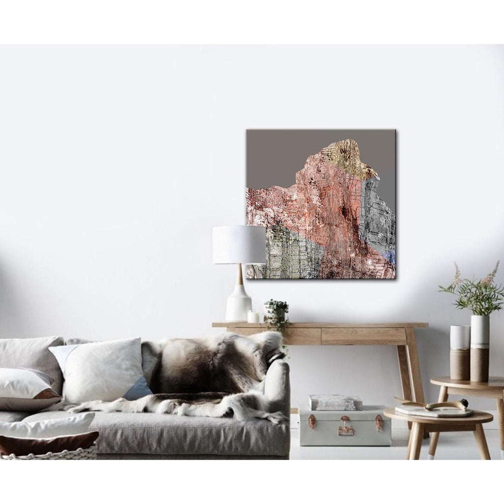 Mt Metric Canvas Print with Floating Frame