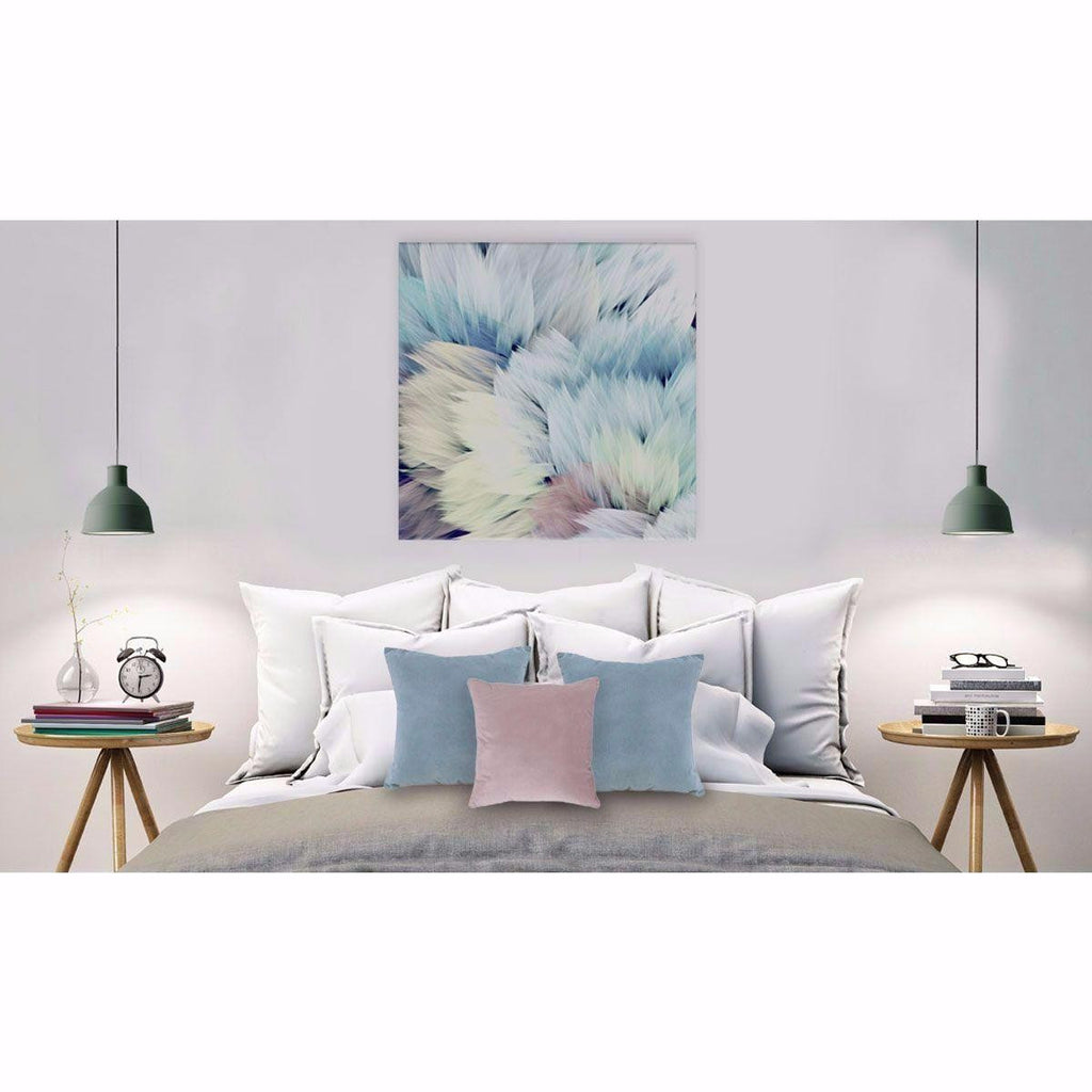 Flori Star Canvas Print with Floating Frame