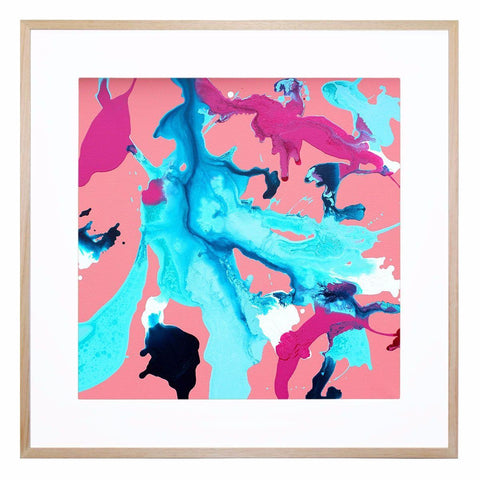 Brun Giclee Print with Frame