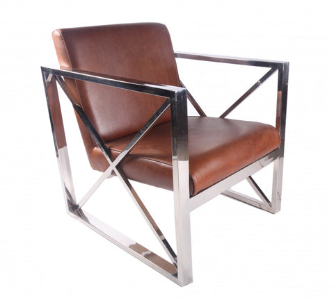 Trianon Arm Chair Oxide Brown