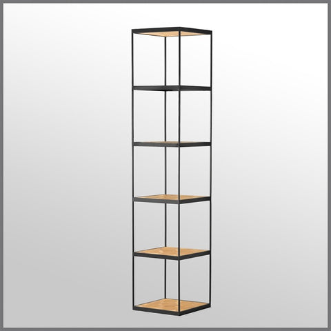 Atticus Shelving Unit Black