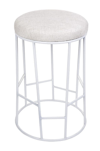 Mod Low Stool White