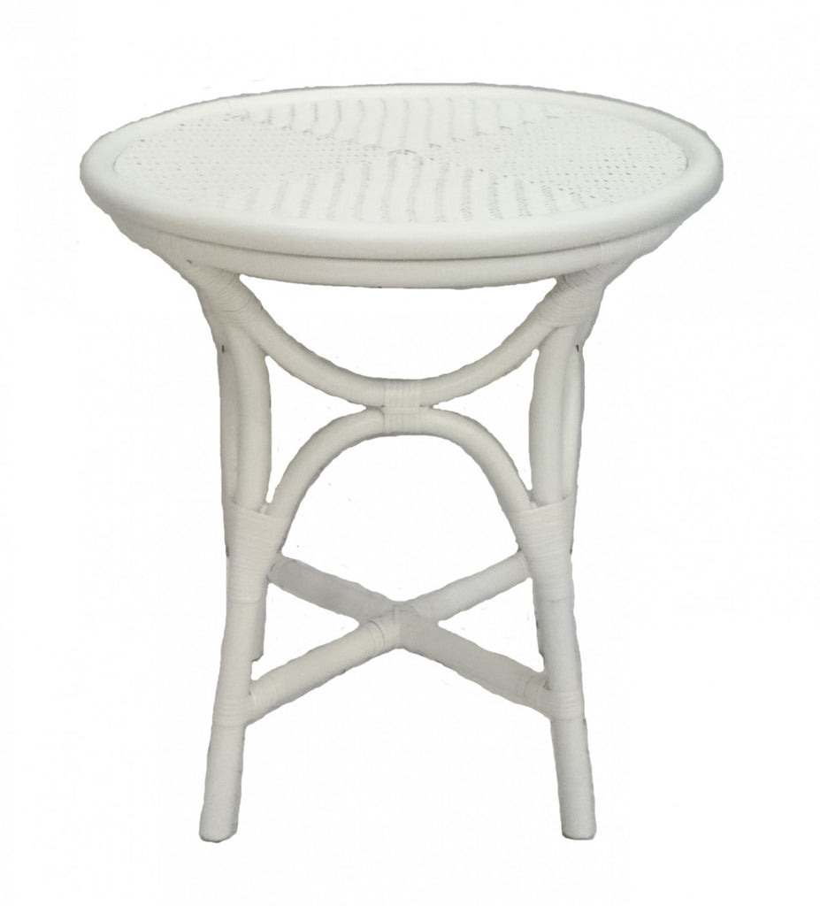 Island Side Table White