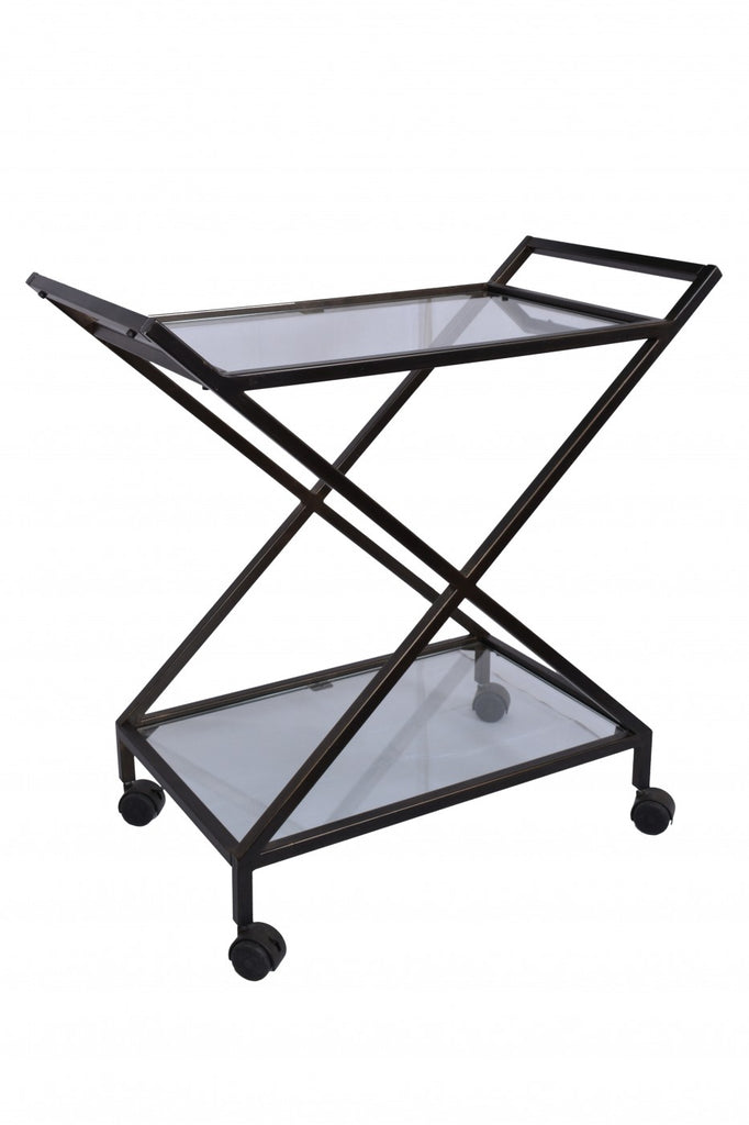 Bar Cart Dark Bronze