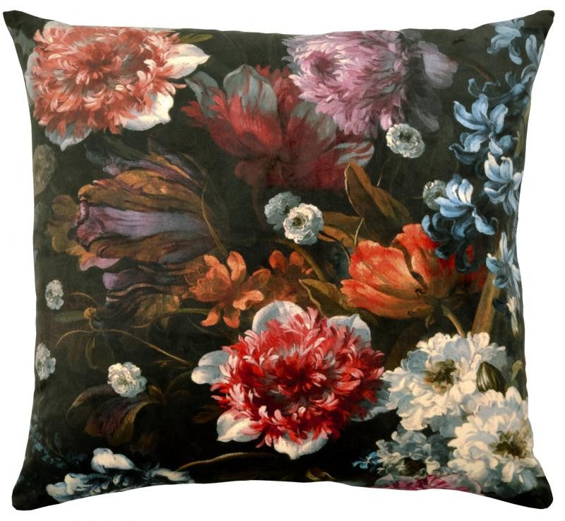 Museum Cushion Floral Florence Velvet
