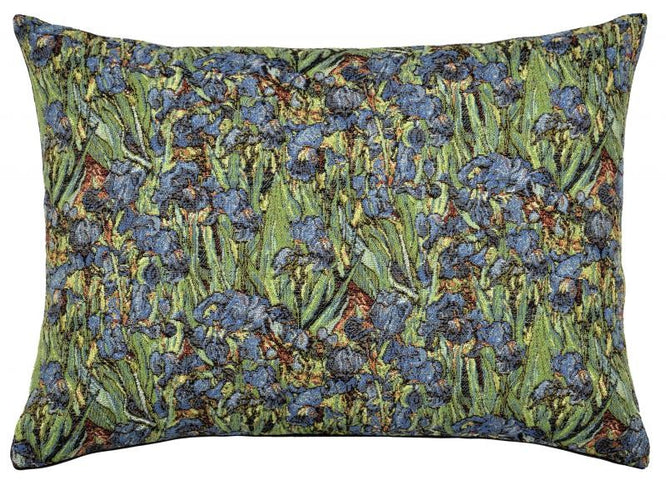 Irises Rectangular Cushion