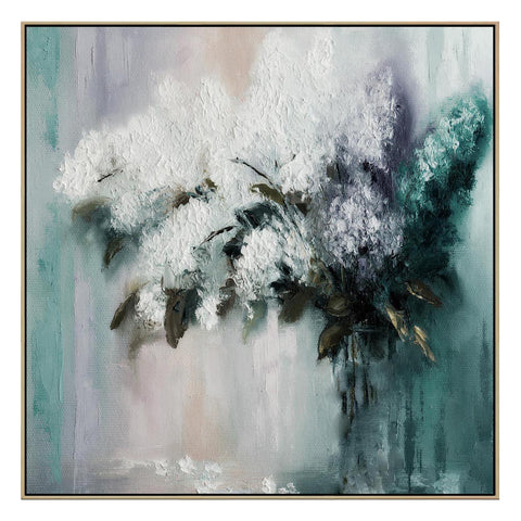 Bouquet Serenade Canvas with Floating Frame