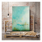 Bianco Scuro Canvas Print