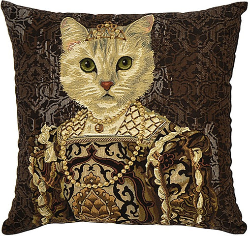 Royal Cats Cushion Anne
