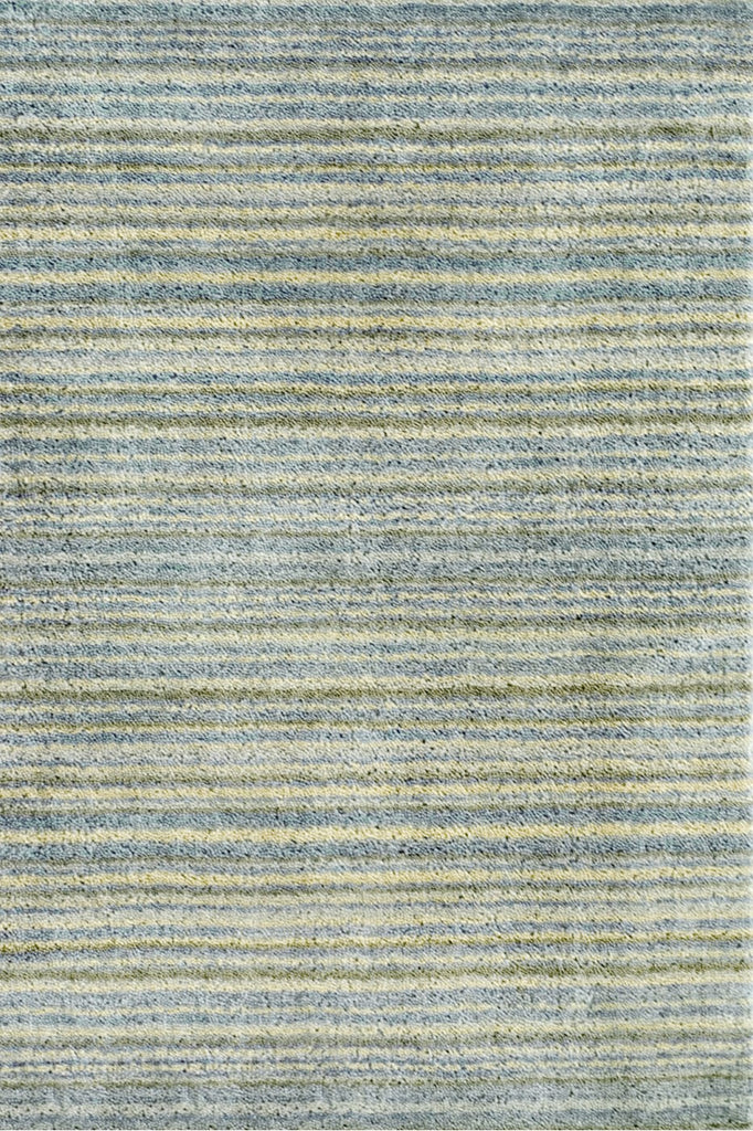 Brindle Stripe Sea Hand Knotted Rug
