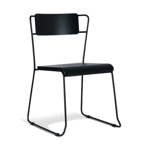 Bronx Dining Chair Black