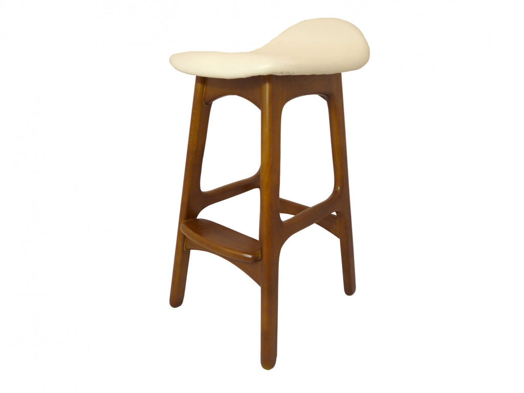 Replica Erik Buch Counter Stool Walnut